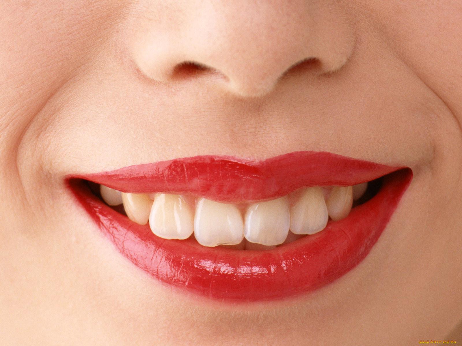 Картинка губы зубы человека